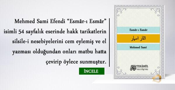 Esmâr-ı Esmâr – Mehmed Sami